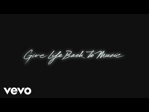 Tekst piosenki Daft Punk - Give Life Back To Music po polsku