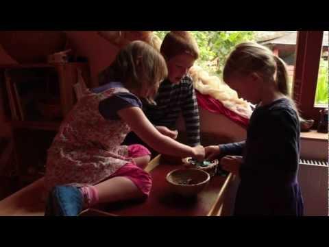Play video: The Edinburgh Steiner School, Creativity