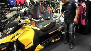 8. 2013 SKI DOO MXZ TNT 800 ETEC REV XS WALK AROUND WITH ECKLUND