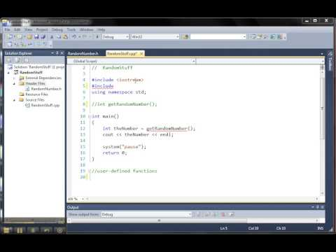 Create Header Files in C++
