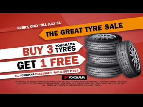 Action Tyres & More Southport - Buy 3 get 1 free Yokohama tyres!