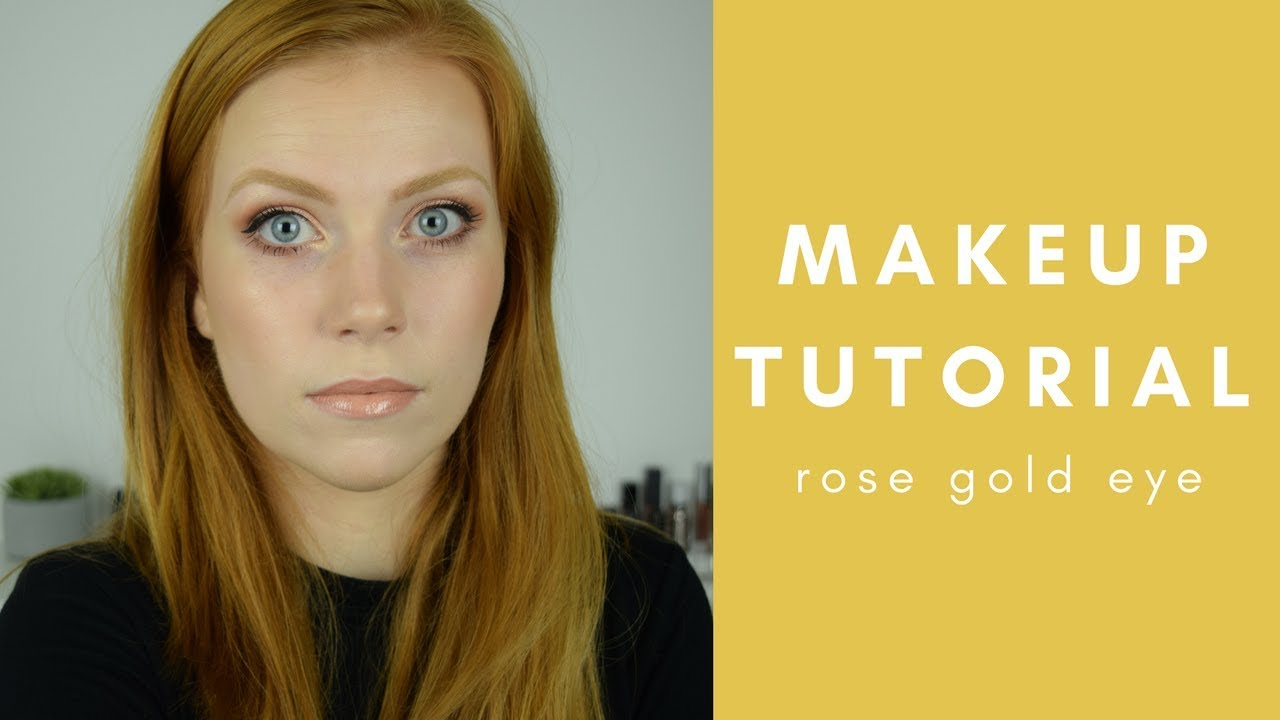 Rose Gold Eye Tutorial | Makeup For Redheads | Simply Redhead