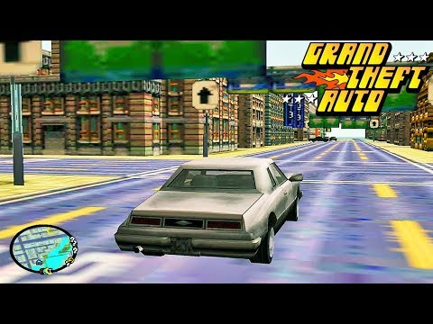 САМАЯ ПЕРВАЯ ВЕРСИЯ ГТА 1997 ГОДА !!! УЛЬТРА ГРАФИКА GTA 1 !!! (видео)