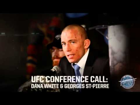 GSP Conference Call: Georges St-Pierre Vacates UFC title