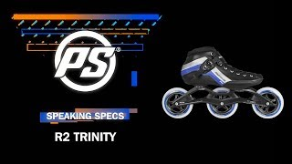 Powerslide Speedskates Inlines R2 Trinity 3x110