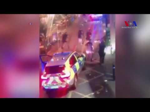 Londra'daki Saldırı Anı Kamerada