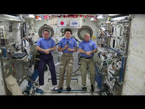 International Space Station speaks with the International Space Explorers Forum