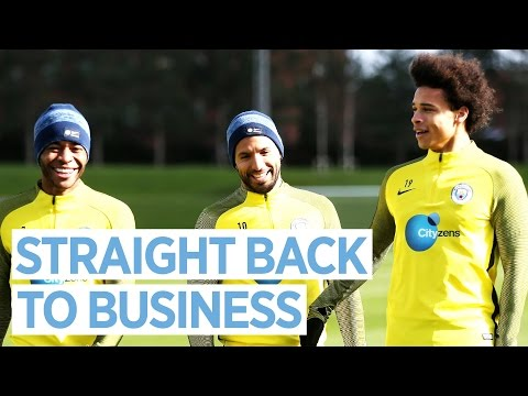 Video: THE HARD WORK NEVER STOPS! | Man City Training