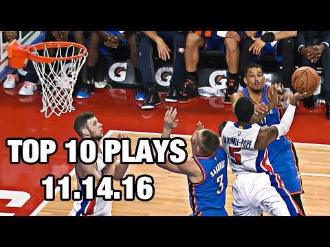 Top 10 NBA Plays November 14th