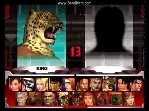 Бои в Теккен 3(История Кинг) Часть 1 (видео)