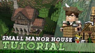 Minecraft Tutorial: Small Medieval Manor House!