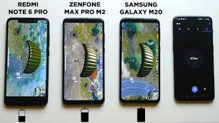 EXTREME Battery Drain Test- Samsung Galaxy M20 vs Zenfone Max Pro M2 vs Redmi Note 6 Pro!