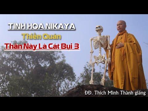 Tinh Hoa NIKAYA – Thiền Quán – Thân Này Là Cát Bụi 3