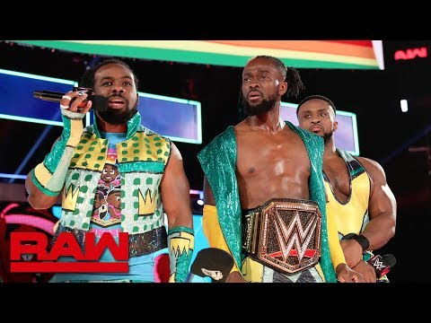 "The New Day Crash ""The Kevin Owens Show"": Raw, June 17, 2019"