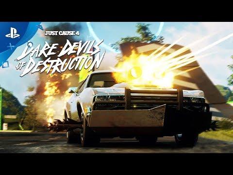 Just Cause 4 - Dare Devils of Destruction Trailer | PS4