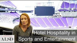 Hotel hospitality ideas for the sports venues sector