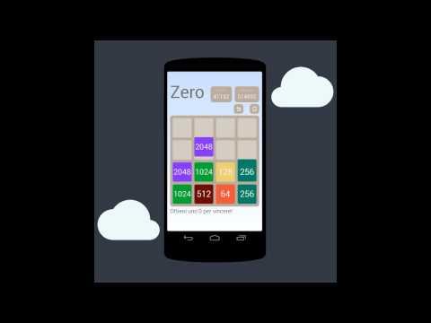 Video of Zero Puzzle (2048 - 2048 = 0)