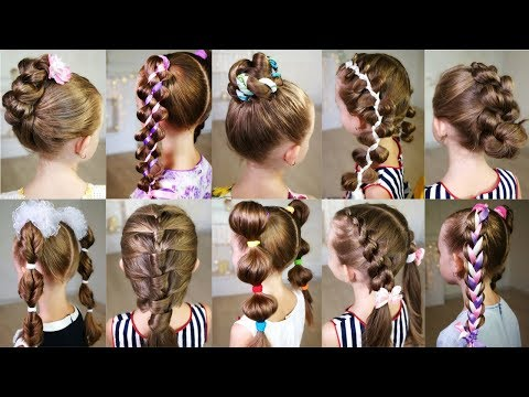 Saç Modelleri Okul Için Pratik Ve Güzel Saç Modelleri Ile Benimle