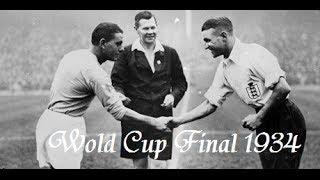 WM 1934: Italien im Finale gegen die Tschechoslowakei mit 2:1