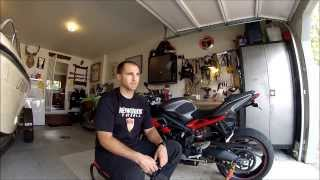 10. Review of Tech Spec C3 Tank Grips on a 2013 Triumph Street Triple R