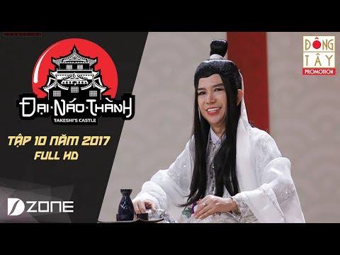 Đại Náo Thành Takeshi Tập 10 Full - Long Nhật hoá Bạch xà vương xử đẹp Trấn Thành