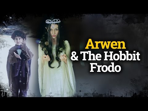 How to dress up like Arwen & The Hobbit Frodo / Cómo disfrazarse de Arwen y Frodo.