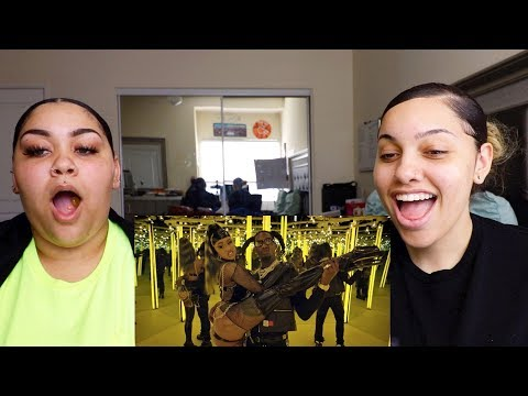 Offset - Clout ft. Cardi B Reaction | Perkyy and Honeeybee