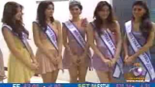 Miss Thailand World 2009 Interview Part 1