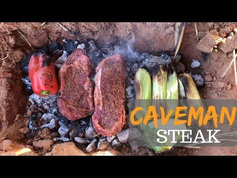Cowboy caveman style steaks
