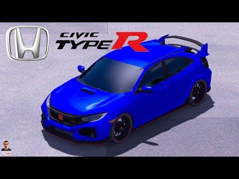 2017 Honda Civic typeR | Civic Fc5 v1.0