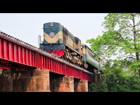 Newly Inaugurated Tungipara Express train of Bangladesh Railway || Gobra to Rajshahi