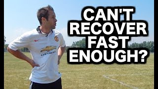 How to recover faster from running  Soccer stamina  Football endurance  In this video I will explain how to recover faster from running while playing soccer or football. Use this advice and you will increase your soccer endurance or football stamina simply by learning to control your breathe.If you want more advice on how to recover faster while training or how to recover faster when playing soccer check out this other video I created on proper breathing technique to improve stamina and endurance. Check it out here:How to breathe while running  Proper breathing technique  Breathing exercises = https://www.youtube.com/watch?v=4dSTtVtN_gQ&t=50sDo you want to get all the latest updates and behind the scenes footage? Stay connected on social media!I release tons of content that you won't find on YouTube.First and most importantly...SUBSCRIBE to Progressive Soccer on YouTube: ► http://www.youtube.com/subscription_center?add_user=ProgressiveSoccerNext, hit me up on Facebook:► Join the group: https://www.facebook.com/747642591984051► Like the page: http://www.facebook.com/prosoccertraining► Follow Dylan: http://www.facebook.com/dylantoobyAre you on Instagram? Follow me:► PST: http://www.instagram.com/ProgressiveSoccer► Dylan's Profile: http://www.instagram.com/DylanTooby► @progressivesoccer and @dylantoobyI just started using SnapChat! ADD ME:► My username is: soccertrainingAlso, if you have twitter please Follow me:► http://www.twitter.com/_SoccerTrainer► @_soccertrainerPinterest? LinkedIn? Google+? Follow Me!► Pinterest: http://www.pinterest.com/SoccerTraining► LinkedIn: https://www.linkedin.com/in/progressivesoccertraining?► GooglePlus: https://plus.google.com/118431858178299977158/If you have any questions you'd like to ask me you can:1) Comment on this video2) Send me a message on social media (any of the accounts above)3) Send me an email at info@progressivesoccertraining.com If for some CRAZY reason you still haven't gone to my website…Go to http://www.progressiveso