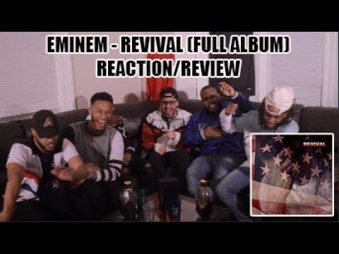EMINEM - REVIVAL (FULL ALBUM) REACTION/REVIEW (видео)