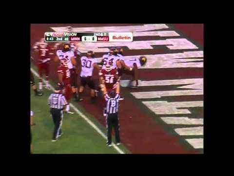 David Cobb 14-yard touchdown run vs New Mexico State 2013 video.