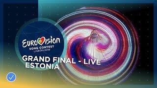 Video Elina Nechayeva - La Forza - Estonia - LIVE - Grand Final - Eurovision 2018 MP3, 3GP, MP4, WEBM, AVI, FLV September 2018