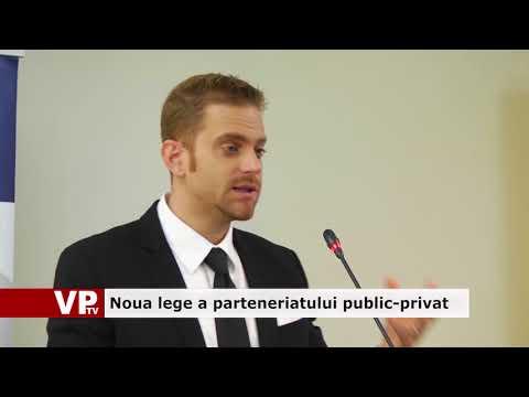 Noua lege a parteneriatului public-privat