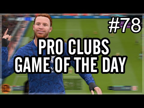 VFL Champions League Semi Final | FIFA 20 Pro Clubs | Game of the Day #78