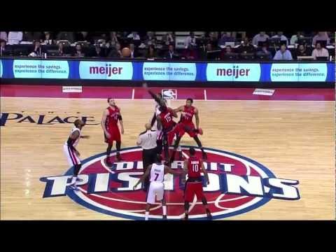 Andre Drummond vs. Raptors: 17 points, 4 rebounds, 2 blocks, 2 steals, 19 minutes (First NBA start)