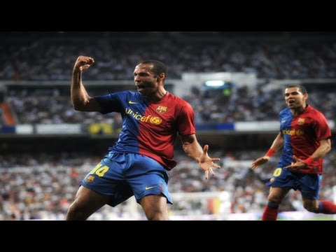 Thierry Henry Vs Real Madrid (A) 08-09 720p