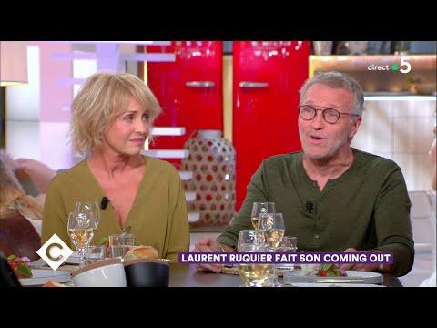 Au dîner avec Fanny Cottençon, Francis Huster et Laurent Ruquier ! - C à Vous - 03/09/2018
