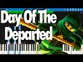 LEGO NINJAGO - Day Of The Departed by The Fold | Synthesia Piano Tutorial