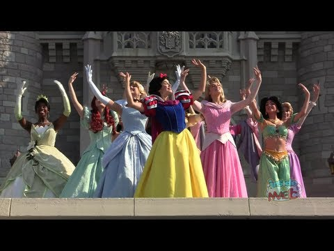 Princess - Visit http://www.InsideTheMagic.net for more from the Disney Princesses! In honor of Merida's coronation ceremony on May 11, 2013, the entire Disney Princess...