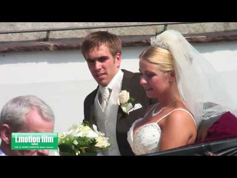 Philipp Lahm und Claudia - Hochzeit