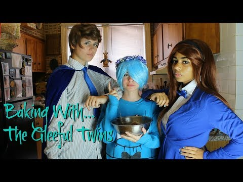 Baking Cookies with the Gleeful Twins! (Featuring Will Cipher) (видео)