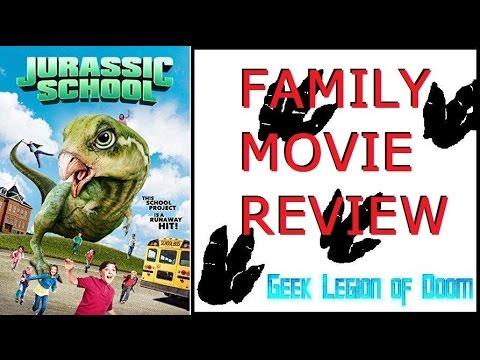 JURASSIC SCHOOL ( 2017 Gabriel Bennett ) Dinosaur Family B-Movie Review