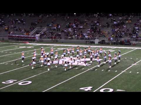Tyler Junior College Apache Belles 2013 Jazz Dance Routine видео