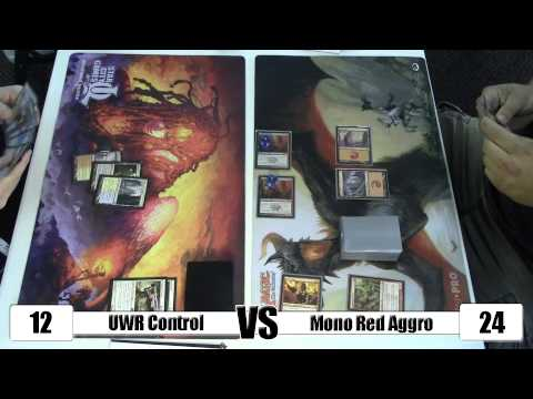 Red - UWR Control vs Mono Red Aggro (Pre-M15) - - - UWR Control - - - 3x Jace, Architect of Thought 1x Elspeth, Sun's Champion 1x AEtherling 1x Keranos, God of Storms 1x Elixir of Immortality...