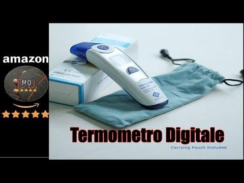 🎬AMAZON►Termometro Digitale Auricolare Frontale a Infrarossi per Febbre