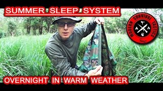 The overnight test of a poncho with an attached liner as a sleep system for warm weather. We also talk about our new partner Thrunite and their smallest flashlight Ti3 they sent to us a month ago. There is another useful info for those who are interested to buy some army clothing or equipment.------------------------------------------------------------------ThruNite INFO:Official Store: http://www.thrunite.com  (5% off by using a coupon code: THRUNITE)Amazon US: http://www.amazon.com/thruniteAmazon Ca: http://dwz.cn/1eGTT0Amazon UK: http://amazon.co.uk/shops/A2DUUB2J3TY3X1Amazon DE: http://amazon.de/shops/A2DUUB2J3TY3X1Amazon FR: http://amazon.fr/shops/A2DUUB2J3TY3X1Amazon IT: http://amazon.it/shops/A2DUUB2J3TY3X1------------------------------------------------------------------Army Navy Sales INFO:http://www.armynavysales.comhttps://www.facebook.com/pages/ARMYNAVYSALES/60891698421http://twitter.com/armynavysales------------------------------------------------------------------KA_BAR BK2 knife sheet upgrade INFO:https://www.amazon.com/dp/B00N37G4U2/ref=wl_it_dp_o_pC_nS_ttl?_encoding=UTF8&colid=30J58ICC3LELJ&coliid=I1YXNVPM272H98-------------------------------------------------------------------------------------------------------FOR MUCH MORE ABOUT M.S.T. VISIT:http://www.modernsurvivaltactics.comhttp://www.store.modernsurvivaltactics.comhttps://www.google.com/+MODERNSURVIVALTACTICS