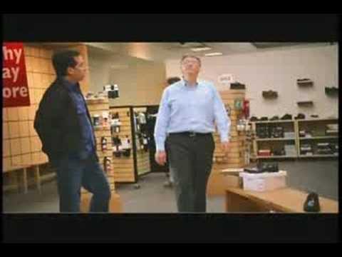 Jerry Seinfeld and Bill Gates -- Microsoft